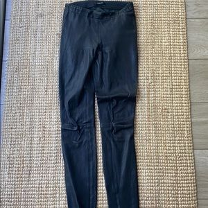 JBrand leather pants